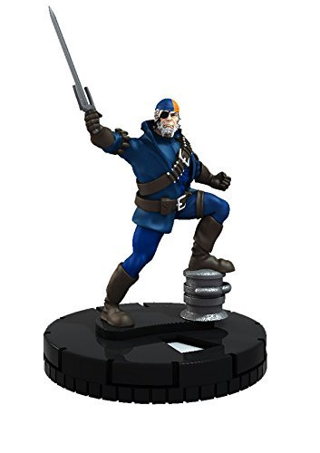 Heroclix DC The Flash #058 Deathstroke Figure Complete with Card by HeroClix