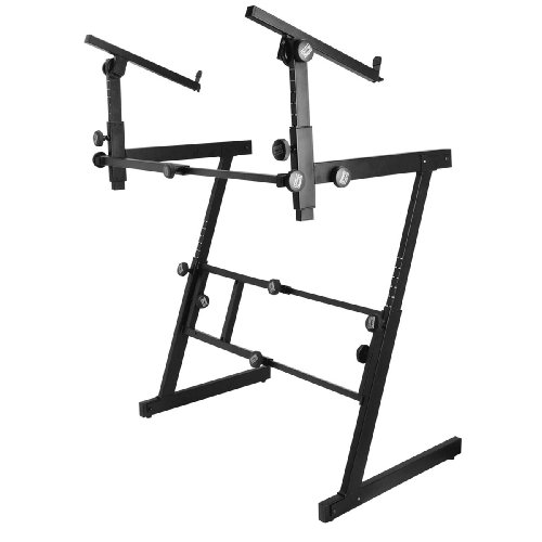 Buy Bargain On Stage 2 Tier Folding Z Keyboard Stand