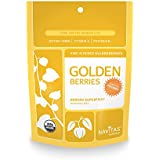 Navitas Naturals Organic Goldenberries, 8-Ounce Pouches (Pack of 2)