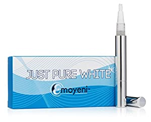 Teeth Whitening Pen - Whiten Smile - Remove Stains - Improve Oral Health - 100% Money Back Guarantee - Natural Gel Ingredients - Best Zero Peroxide Home Whitening Kit - No Strips Whitener - ** FREE ** Additional White SmileTips and ** FREE ** Weight Loss Tips