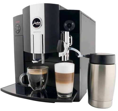 Jura 13422 Impressa C9 One Touch Automatic Coffee-and-Espresso Center, Black