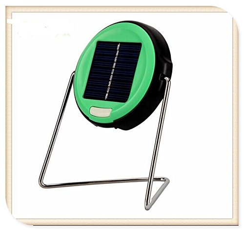 Solar Rechargeable Led Task Bright Light Waterproof Bedside Lamp Solar Lamp(Color Green)