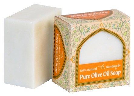 Aseela アシーラ石鹸 パレスチナの伝統製法、釜だきのオリーブオイルソープ 100g