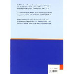 Tafelwerk Mathematik, Physik, Astronomie, Chemie, Biologie, Informatik: Form