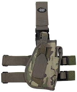fondina-pistola de jambe gamba- et ceinture fixation