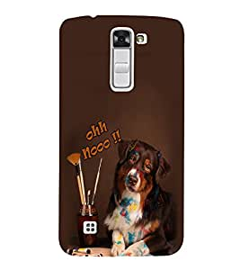Fuson Premium Ohh No Printed Hard Plastic Back Case Cover for LG K10