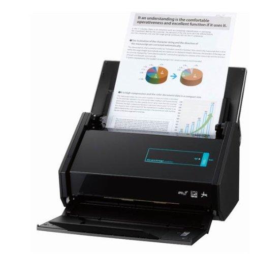 Fujitsu PFU ScanSnap iX500 Scanner 600 dpi, WLAN, USB 3.0 et Abbyy PDF Finereader MAC WIN