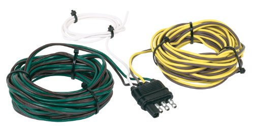 Hopkins 48265 30' 4-Wire Flat Trailer Side Y-Harness Connector
