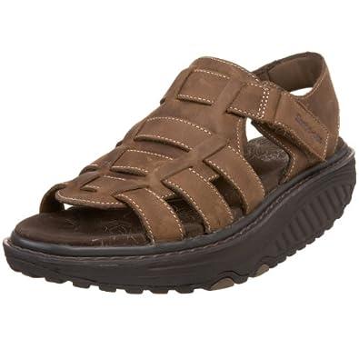 Buy Skechers Ladies Shape Ups - Strolling Ankle-Strap Sandal by Skechers