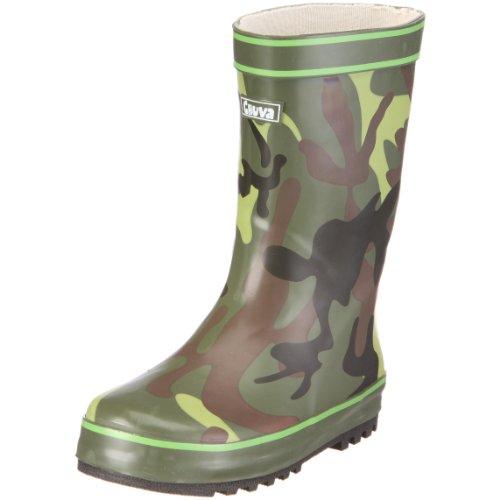 Chuva, Stivali unisex bambino, multicolore (camouflage green), taglia 30