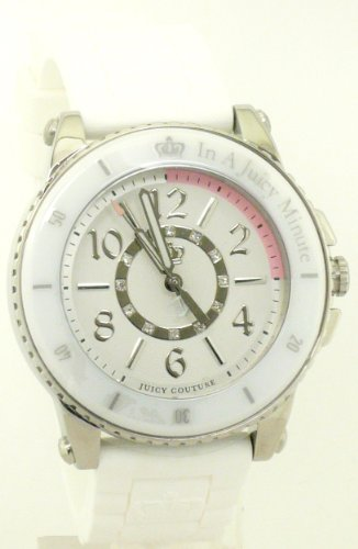 Juicy Couture Women's 1900788 Pedigree White Ceramic Bezel Watch