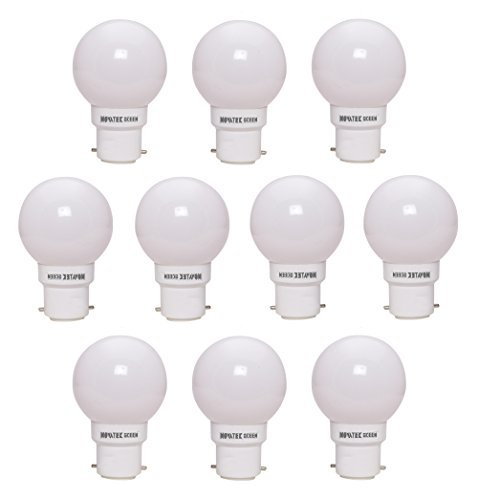 0.5W LED Bulbs (White, Pack of 10)