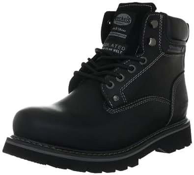 dockers by gerli 291200 007001 herren combat boots schwarz schwarz 001 47 eu 12 herren uk. Black Bedroom Furniture Sets. Home Design Ideas