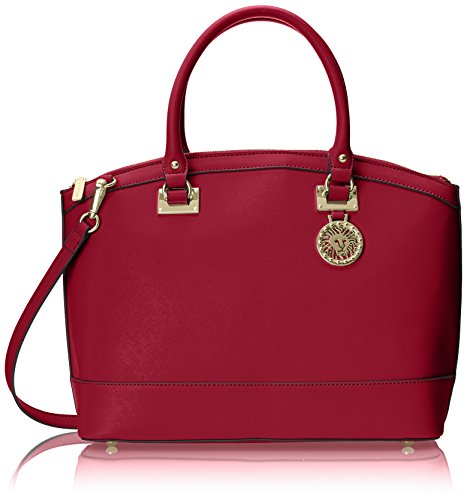 anne-klein-new-recruits-large-dome-satchel-ruby