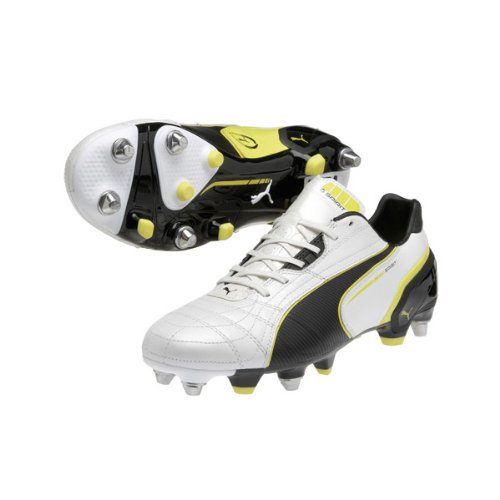 Spirit Mixed Sole SG Rugby Boots Blazing Yellow/Black/White