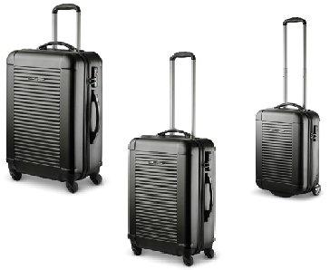Trolley-Koffer-Set, 3-tlg. XXL-Light, TSA, Ital.