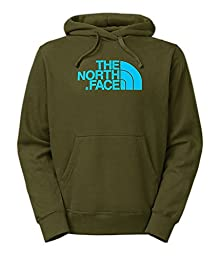 The North Face Half Dome Hoodie Men\'s Forest Night Green L