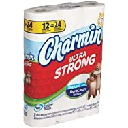 Charmin Ultra Strong Toilet Tissue-12DBL RL STR CHAR TISSUE