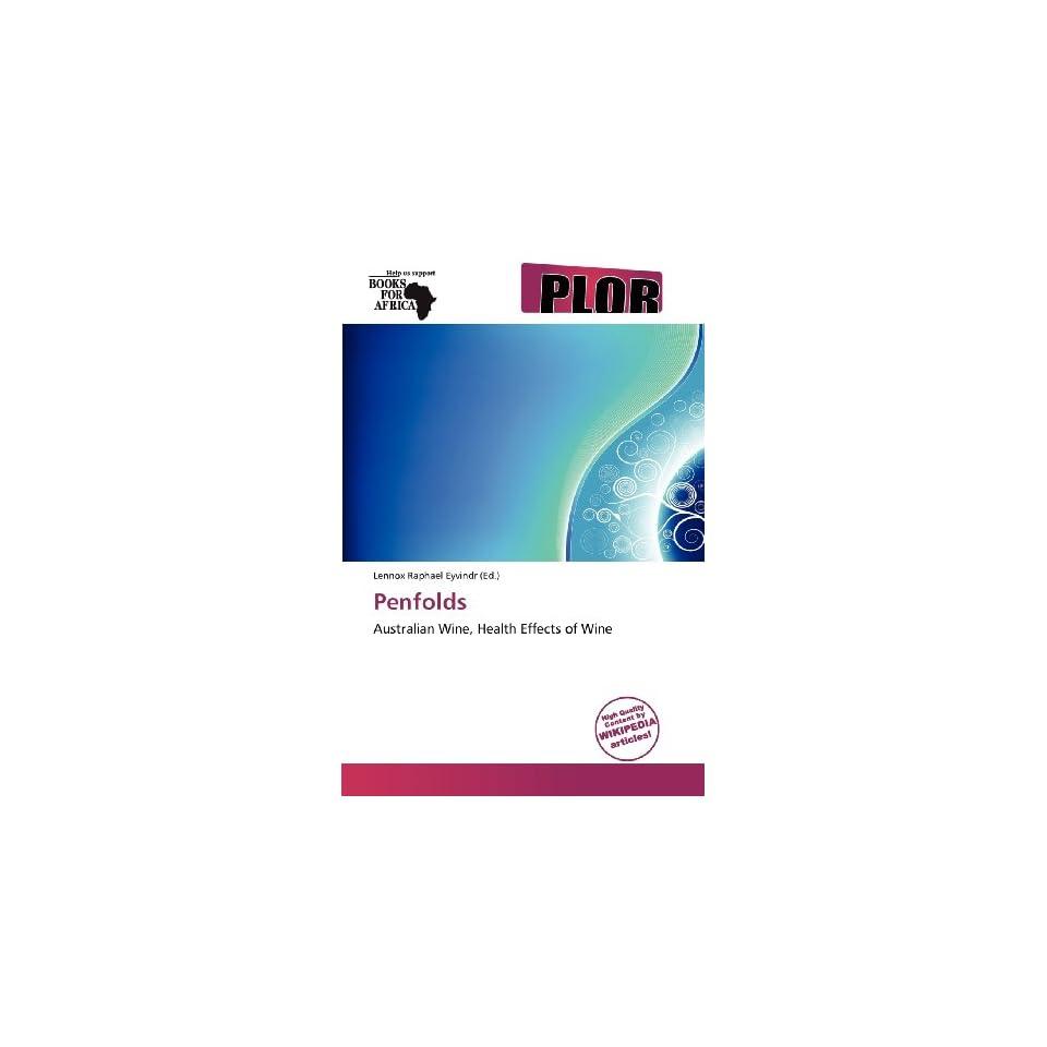 Penfolds (9786137997901) Lennox Raphael Eyvindr Books