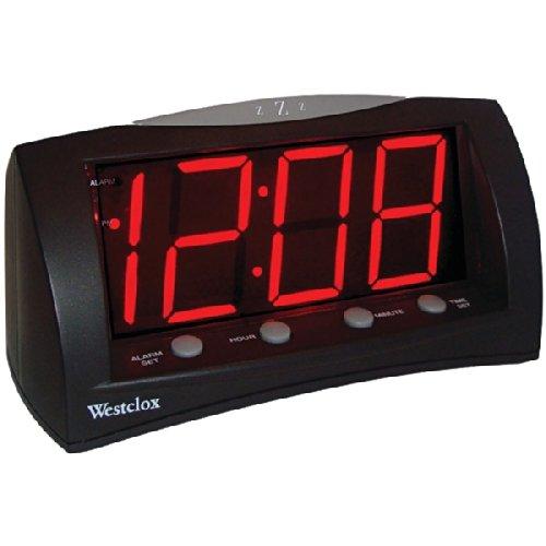 1.8'' Oversized Snooze Alarm Clock By: WESTCLOX