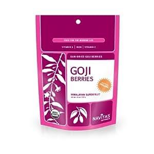Navitas Naturals Organic Goji Berries, 48 Ounces