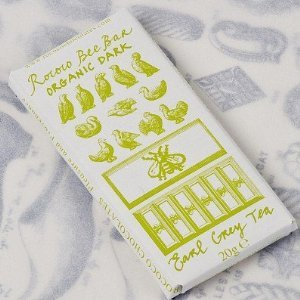Earl Grey Organic Dark Chocolate Bee Bar