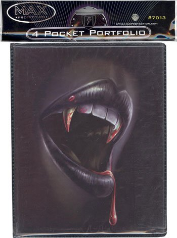 Trading Card Supplies - Max Protection 4 Pocket Portfolio - THIRST