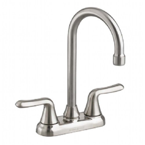 Why Should You Buy American Standard 2475.500.075 Colony Soft 2-Handle High-Arc Bar Faucet, Stainles...