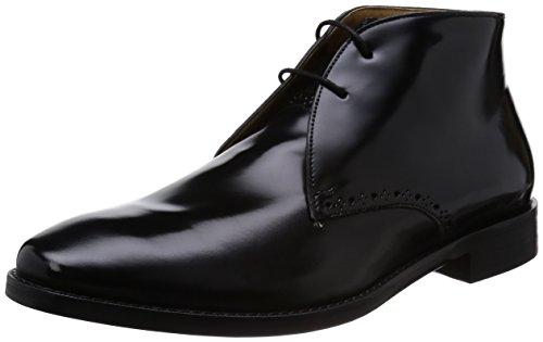 Men's Cole Haan 'Cambridge' Chukka Boot Black Shiny 8.5 M