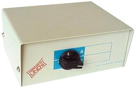 Lindy 32583 Switch KVM manuel USB 2.0KVM commutateur Ecran/clavier/souris