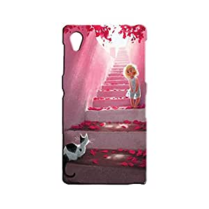 BLUEDIO Designer 3D Printed Back case cover for Sony Xperia Z1 - G5910