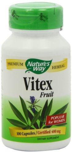 Primitiveness's Way Vitex (Chaste Tree),  400 mg, 100 Capsules (Pack of 2)