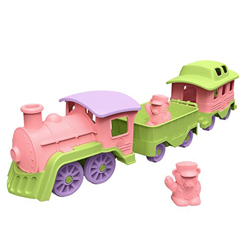 Green Toys Train, Pink/Green - 1