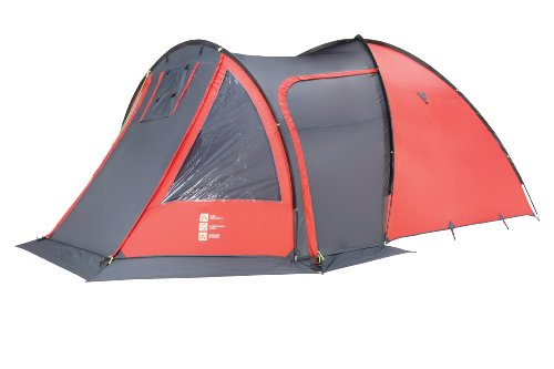 Gelert Tornado DLX Five Man Tent - Red Clay/Charcoal