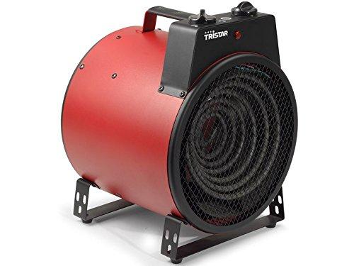 4Kg Elektroheizung mit Spritzwasserschutz - leistungsstarker 3KW Power Heizstrahler - E-Heizung für Feier, Baustelle, Garage, Party, Zelt oder Werkstatt, ebenso als Entfroster uvm. - elektrische Heizung mit 3000 Watt - NEU & OVP