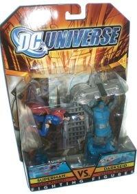 Buy Low Price Mattel DC Universe Fighting Figures Series 1 Superman vs. Darkseid Action Figure 2-Pack (B0011V0JBM)