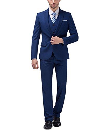 Matrimonio Elegante Uomo : Lianihk giacca uomo matrimonio abito completo sartoriale slim fit
