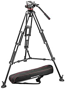 Manfrotto MVH502A, 546BK-1 Professional Fluid Video System