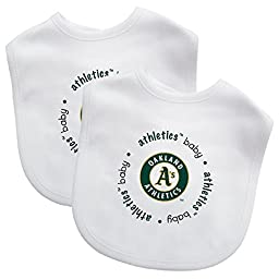 Baby Fanatic Bib, Oakland Athletics, 2 Count