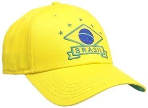 Umbro Brésil Casquette homme Jaune/Vert
