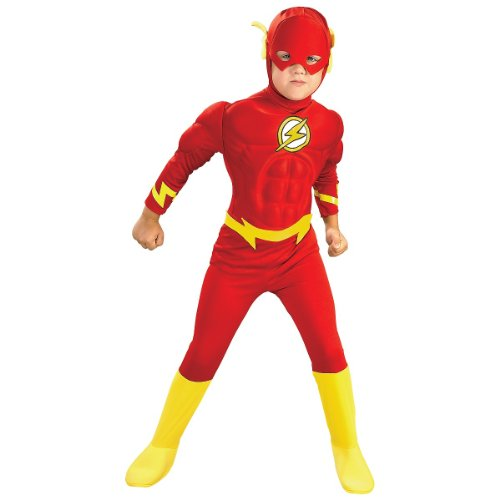 Deluxe Muscle Chest Flash Costume - Toddler