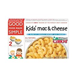 Good Food Made Simple Mac & Chs, Cabot, Kids (2/8 oz.)