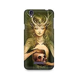 Mobicture Ms Skull Premium Printed Case For Micromax YU Yureka A05510