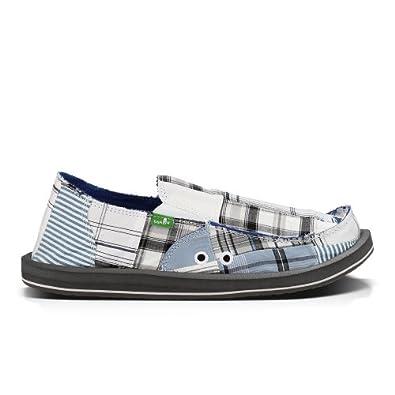 sanuk m vagabond madras shoes blue white co uk