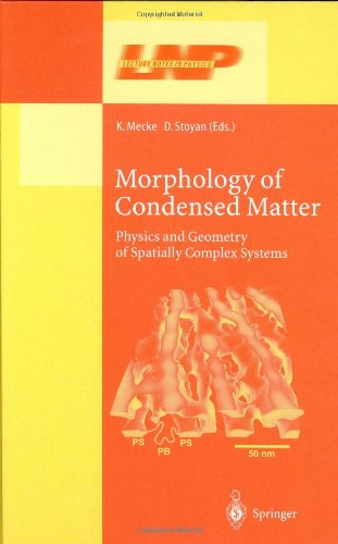 Morphology of Condensed Matter