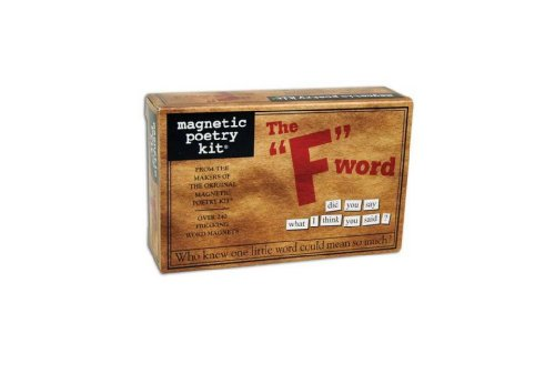 The F-Word Magnetic Poetry Kit