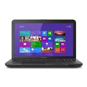 "Toshiba® Satellite C855D-S5359 Notebook Computer {AMD Dual Core E1-1200 / 15.6"" TFT DISPLAY / 4GB RAM / 320GB HDD / DVDRW / WIFI / WEBCAM / WINDOWS 8}"