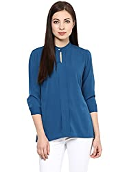 Blue Solid Top By Magnetic Designs (MDTOP599 _Blue_Small)