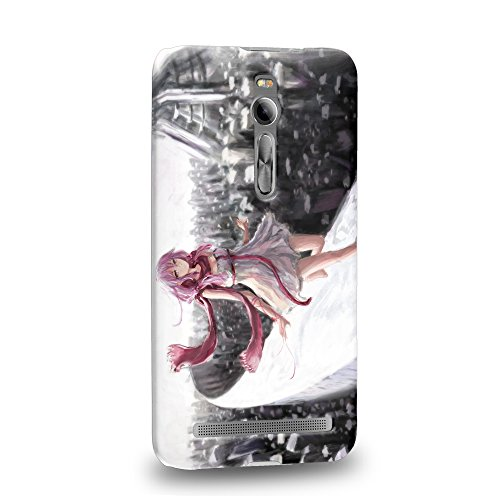 Case88 Premium Designs Guilty Crown GC Funeral Parlor Yuzuriha Inori 1198 Custodia/Cover Rigide/Prottetiva per ASUS zenfone 2 5.5 inch ZE550ML / ZE551ML
