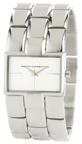 French Connection Women's FC1011S Stainless Steel Bracelet Watch